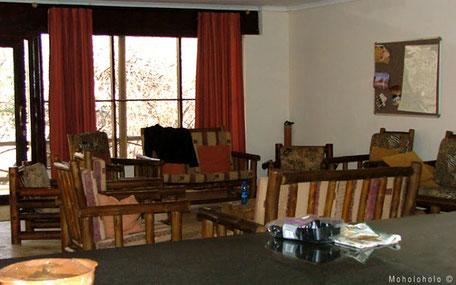 Livingroom in rehab accomodation