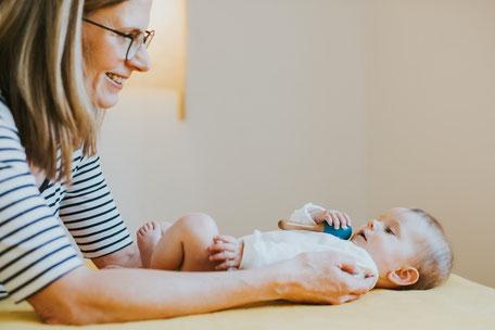 Osteopathie für Babys und Säuglinge