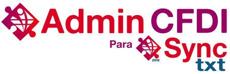 AdminCFDI para SyncTXT 2016 - Administrador de CFDIs timbrados