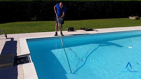 Recherche de fuite bassin piscine