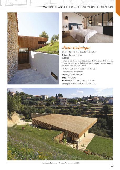 maison bois nice, architecte maison bois nice, maison ossature bois nice, architecte maison bois