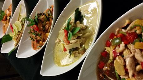 Klassische Thaigerichte