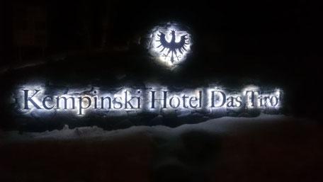 Das Kempinski Tirol - Hotel der Superlative ..