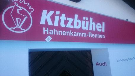 Hahnenkamm Ski Abfahrt Renn Party in Kitzbühel