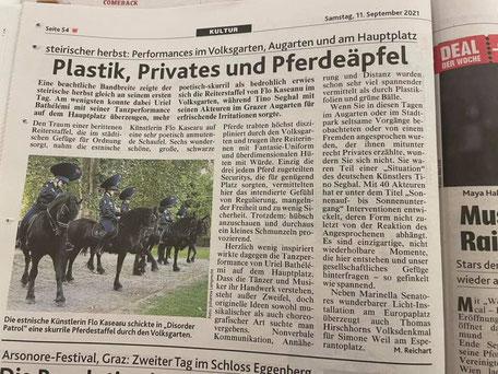 Kronen Zeitung Steirischer Herbst