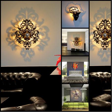 luminaire design, luminaire baroque