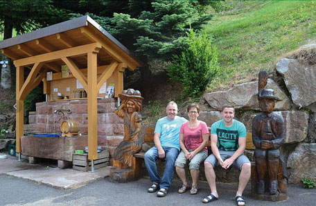 Familie Kimmig freut sich auf Ihren Besuch