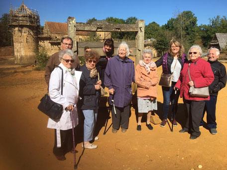 Les séniors de la Résidence Jasmin visitent le Chateau de Guedelon