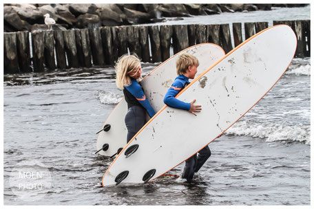 Wellenreitkurs an der Ostsee an der Surfschule Kühlungsborn