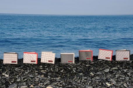 Portafoglio vela riciclata