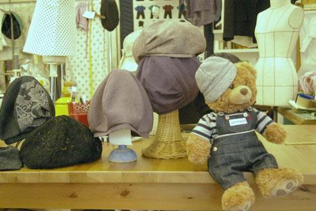 ハンドメイド帽子・手作り帽子