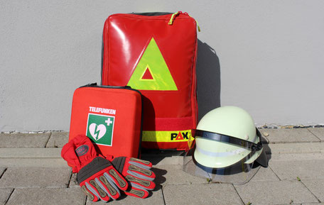 Medizinischer Ausrüstung (Foto: Privat)