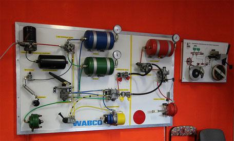 Modell der Firma Wabco