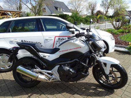 Honda NC700s Fahrschulmotorrad