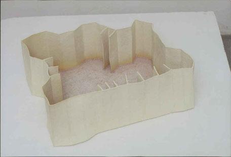 Festung 4 Paperclay Glasperlen 2004