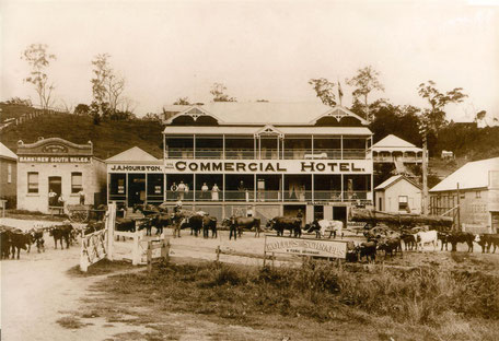 Commercial Hotel where Joe's Waterhole now is