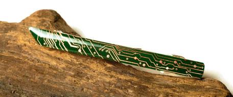 Circuit Accessories grüne Krawattenklammer