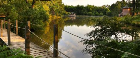 Le petit pont de bois pour découvrir camping dordogne perigordt