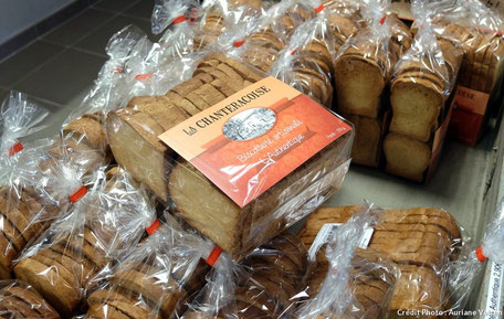 Biscotte gourmande La Chanteracoise
