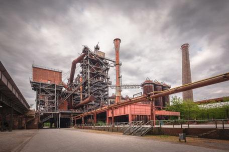 Industriekultur, Kokerei, Hüttenwerk, Industrie, Industrieanlagen