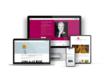Mutmachinstitut Webdesign + Onlineshop mit Wordpress Elementor