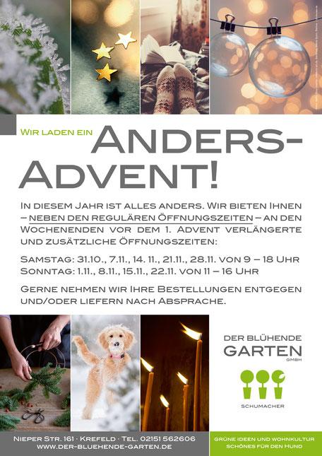 Der blühende Garten – Adventausstellung 2019