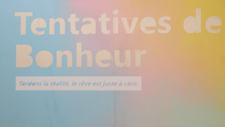 Exposition Tentatives de bonheur,  MAIF Social Club, 2019
