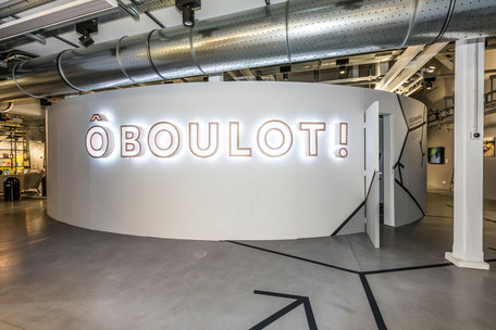 Exposition Ô boulot !,  MAIF Social Club, 2018