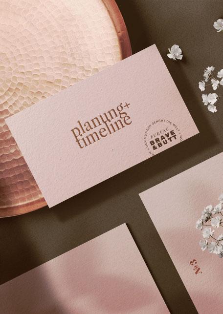 Planung + Deadline für Personal Branding und Corporate Branding im Designstudio BAYREUTH, OBERFRANKEN