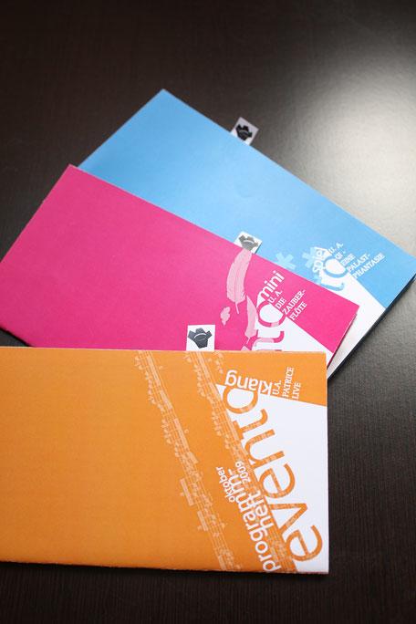 Layout Corporate Design für Theater. Booklets.