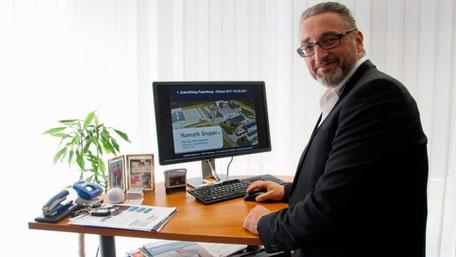 Als Mitglied der Geschäftsführung der Hanrath Gruppe ist Oliver Kugland Projektierer. Foto: Maike Plaggenborg