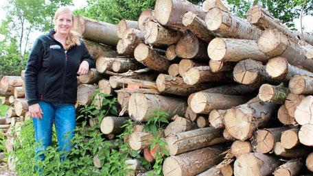 In Ihrem Element: Geschäftsführerin Vera Butterweck-Kruse ist vor zehn Jahren in das Familienunternehmen eingestiegen. Foto: Christian Belling