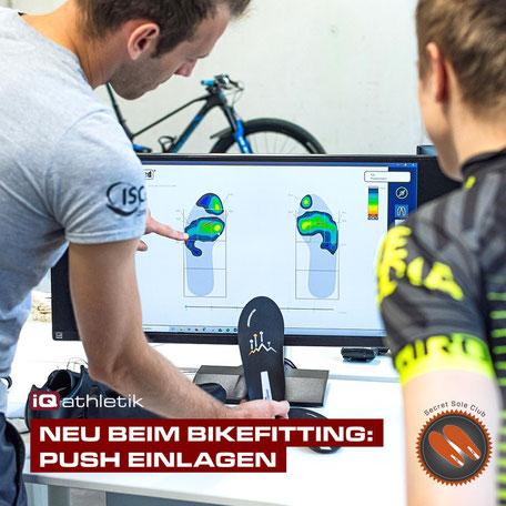 gebioMized PUSH Einlagen | Bikefitting