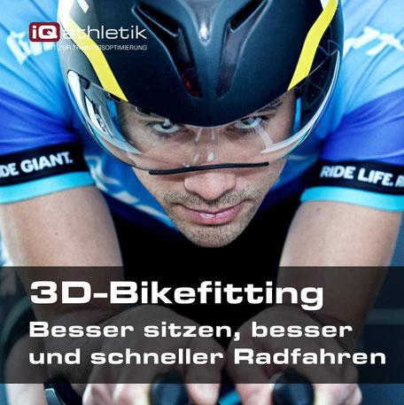 Bikefitting zum Optimieren der Sitzposition