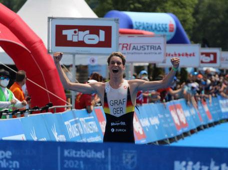 Henry Graf Triathlon-Europameister der Junioren