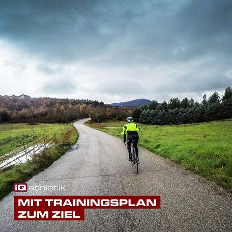 Mit Trainingsplan zum Ziel