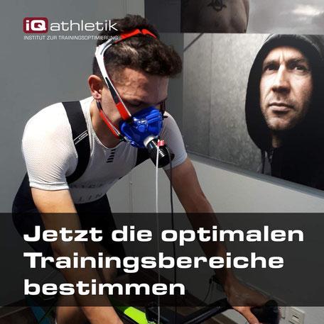 Die optimalen Trainingsbereiche mit einer Leistungsdiagnostik bestimmen