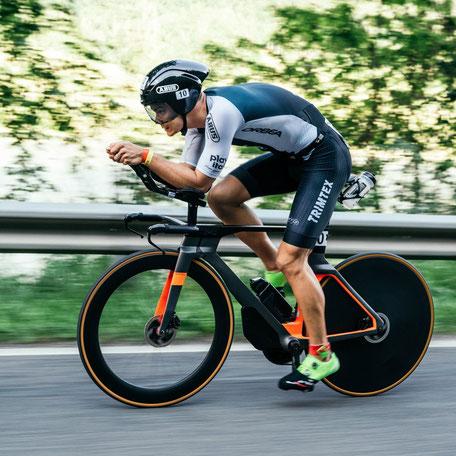 Jan Stratmann, dritter Platz bei den IRONMAN 70.3 European Championships