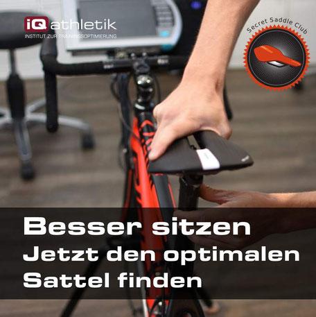 Satteldruckmessung und Bikefitting