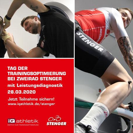 Tag der Trainingsoptimierung bei Zweirad Stenger
