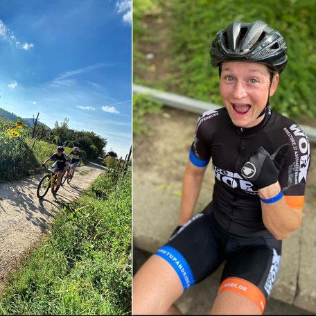 Nina Kuhn siegt beim Odenwald Bike Marathon
