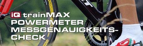 Bestimmen der Messgenauigkeit eines Wattmesseres am Fahrrad