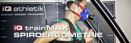 Spiroergometrie auf dem Fahrradergometer oder Laufband