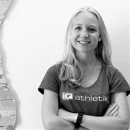 Franziska Boberg, Sportwissenschaftlerin, Diagnostikerin und Trainerin bei iQ athletik