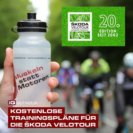 Kostenlose Trainingspläne Skoda Velotour Eschborn-Frankfurt