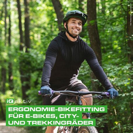 Ergonomische Sitzposition für E-Bikes, City- und Trekkingräder