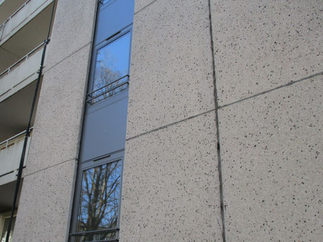 PCB-haltiges Fugenmaterial bei Fassadenplatten