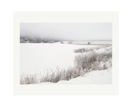 Landschaft am Schaalsee: Winter