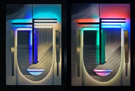 lichtwandbilder, lichtkunst, jawlensky, lichtdesign, bruno kiesel