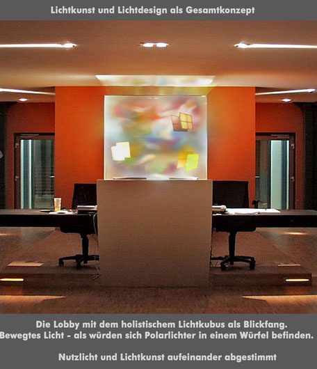 Lichtkinetik_Lichtkubus_Kunst am Bau_Foyer Lichtgestaltung_Polarlichter_Bruno Kiesel_Olafur Eliasson_James Turell.jpg